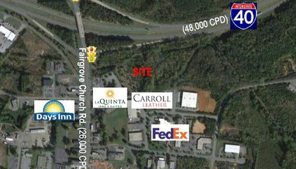 I-40 frontage land for sale