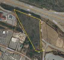 Prime retail land available in Hickory